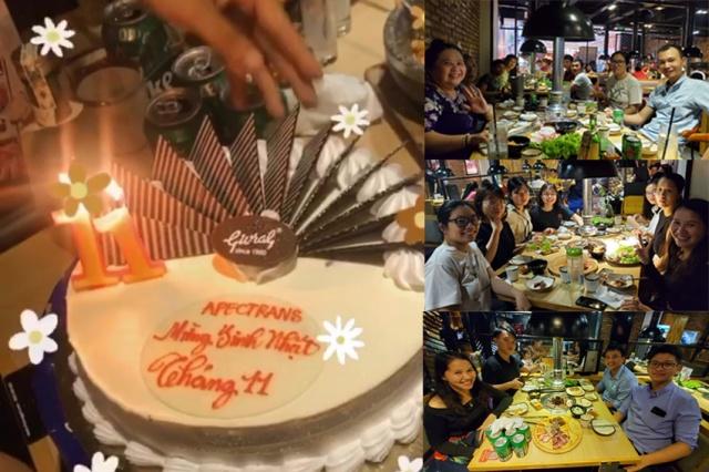 Apectrans tổ chức sinh nhật tháng 11 cho toàn thể CBCNV