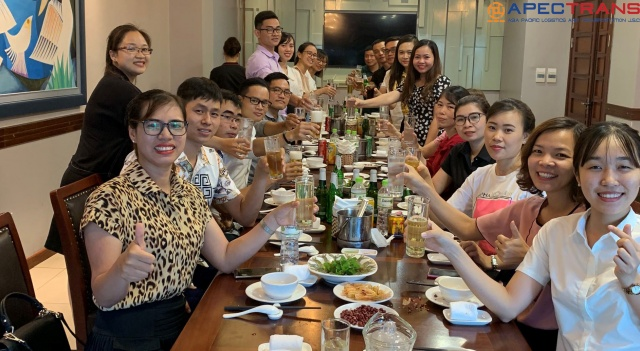 Apectrans tổ chức sinh nhật tháng 7 - 2020 cho Cán bộ Công nhân viên