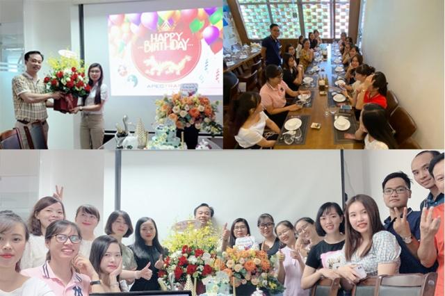 Apectrans tổ chức sinh nhật tháng 9 - 2020 cho Cán bộ Nhân viên