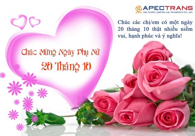 Apectrans tổ chức 20-10 và sinh nhật tháng 10 cho Cán bộ Nhân viên